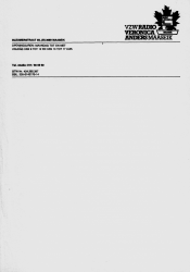 Letterhead of Radio Veronica Anders Maaseik