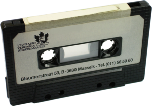 Cassette tape of Radio Veronica Anders Maaseik